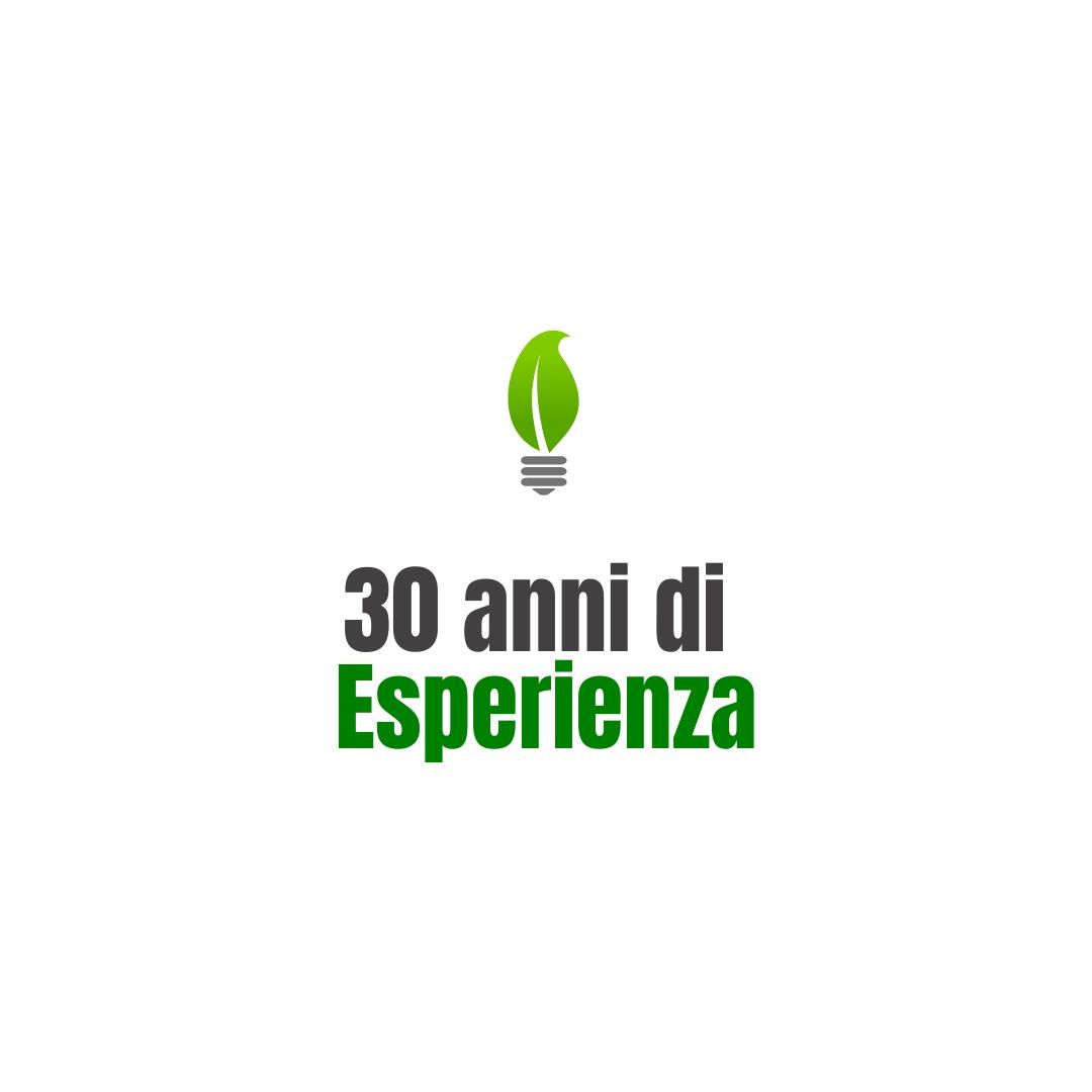 30 anni diEsperienza